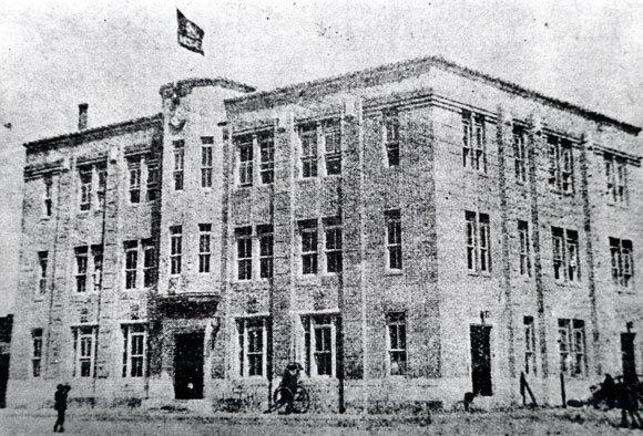 1926년 서울 광화문 동아일보 3층사옥